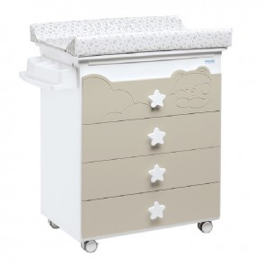 Cute Co Dolce Luce Baby Change Table With Drawers and Bath