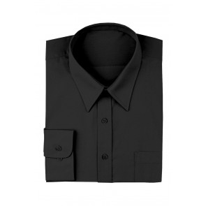 Men's Black Dress Shirt by Chef Works