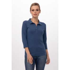 Definity Blue Women Shirt by Chef Works