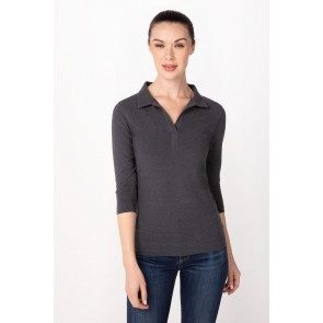 Definity Charcoal Women Shirt by Chef Works