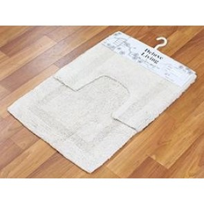 Delux Living Mat Bone by Rug Culture