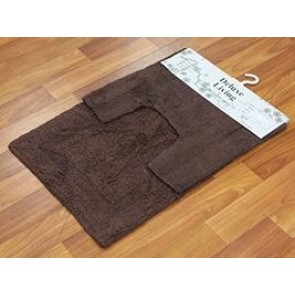 Delux Living Mat Brown by Rug Culture