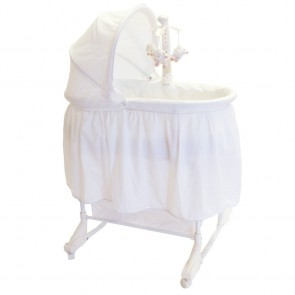 Babyhood Deluxe Rock A Bye Bassinet