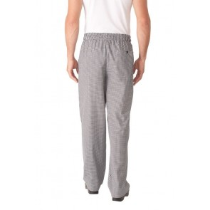 Small Check Baggy Pants w/ Zipper Fly by Chef Works