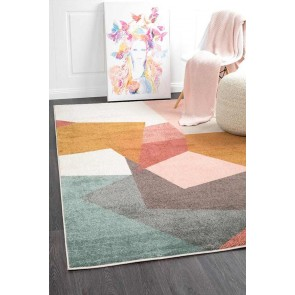 Dimensions 420 Blush By Rug Culture