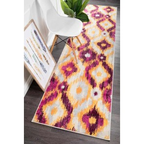 Dimensions 421 Aubergine Runner By Rug Culture