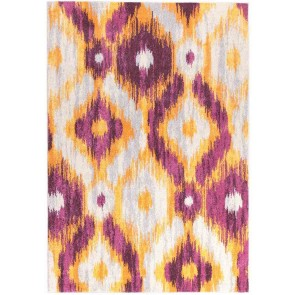 Dimensions 421 Aubergine By Rug Culture