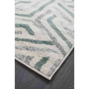 Dimensions 426 Teal Runner By Rug Culture