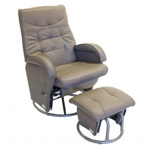 Babyhood Diva Glider Chair and Ottoman