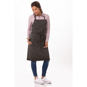 Dorset Pewter Cross Back Apron by Chef Works