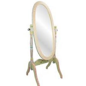 Teamson Crackled Rose Mirror