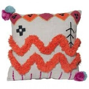 Terra Square Cushion by J Elliot Home