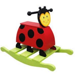 Teamson Magic Garden  Lady Bug Rocker