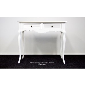 Living Good Dressing Table with 2 Drawers