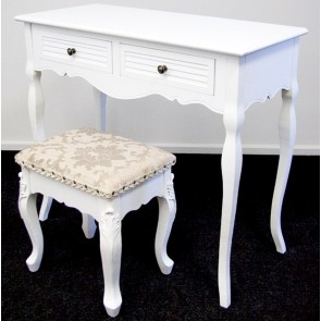 Living Good Dressing Table with Stool