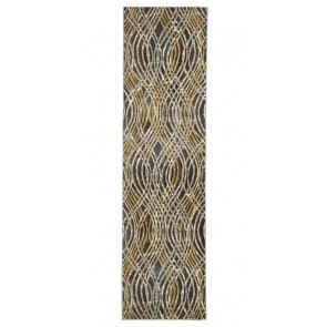 Dream Scape 852 Charcoal Runner By Rug Culture