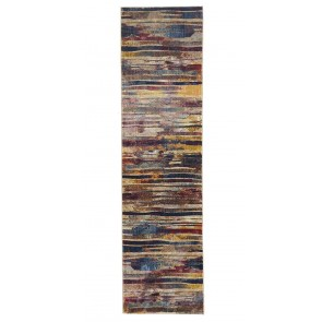 Dream Scape 853 Raspberry Runner By Rug Culture