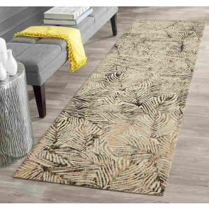 Dream Scape 854 Charcoal Runner By Rug Culture