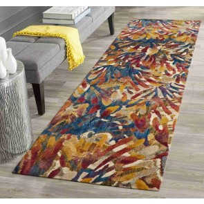 Dream Scape 855 Tropical Runner By Rug Culture