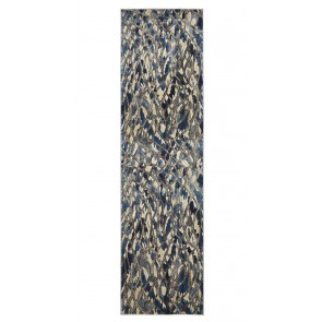 Dream Scape 856 Blue Runner By Rug Culture