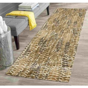 Dream Scape 858 Sage Runner By Rug Culture