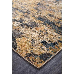 Dream Scape 860 Rust Runner By Rug Culture