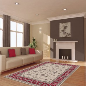 Harel Beige Dynasty Collection Rug by Saray Rugs