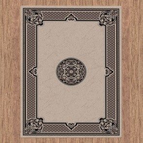 Heriz Beige Dynasty Collection Rug by Saray Rugs