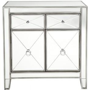 Apolo Cabinet - Antique Silver