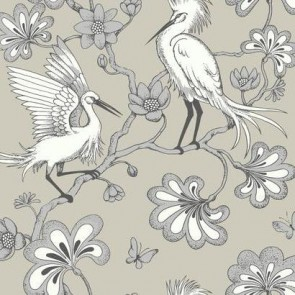 Egrets American Edit Wallpaper by Florence Broadhurst (6 colourways)