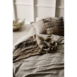 Linen and Moore Empire Throw