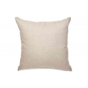 White & Beige Coral Linen Cushion by Alexander Santorini
