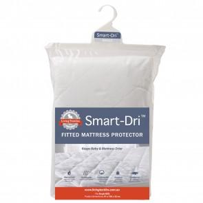 Smart-Dri Waterproof Single Mattress Protector by Living Textiles