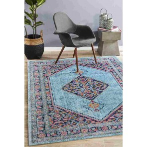 Eternal 910 Blue By Rug Culture