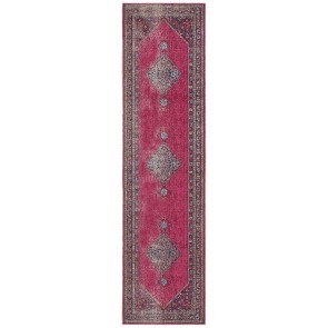 Eternal 910 Pink Runner By Rug Culture