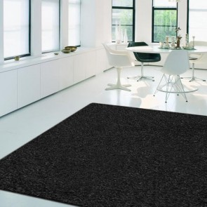 Europa Collection Black Rug by Saray Rugs