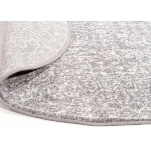 Evoke 256 Grey Round By Rug Culture