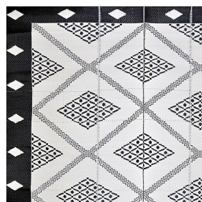 Troy Square Plastic Outdoor Rug by Fab Rugs