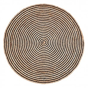 Orchid Round Jute Rug by Fab Rugs