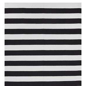 Nantucket Black Cotton Rug Fab Rugs