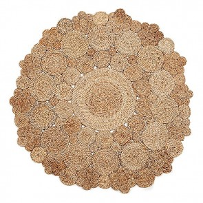 Marigold Round Jute Rug by Fab Rugs