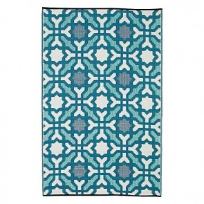 Fab Rug Seville Indoor/Outdoor Blue Rug
