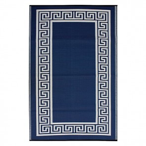 Fab Rug Athens Indoor/Outdoor Blue Rug