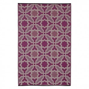 Fab Rug Seville Indoor/Outdoor Purple Rug