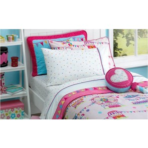 Freckles Fairground King Single Sheet Set