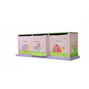 Fantasy Fields by Teamson 3 Bag Storage Cabinet