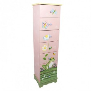 Teamson Magic Garden 7 Drawer Cabinet