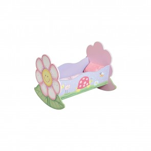 Teamson Magic Garden Doll's Rocking Bed