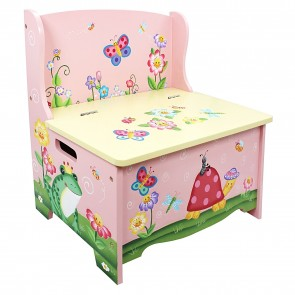 Teamson Magic Garden Storage Bench