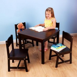 Farmhouse Table & 4 Chair Set by Kidkraft